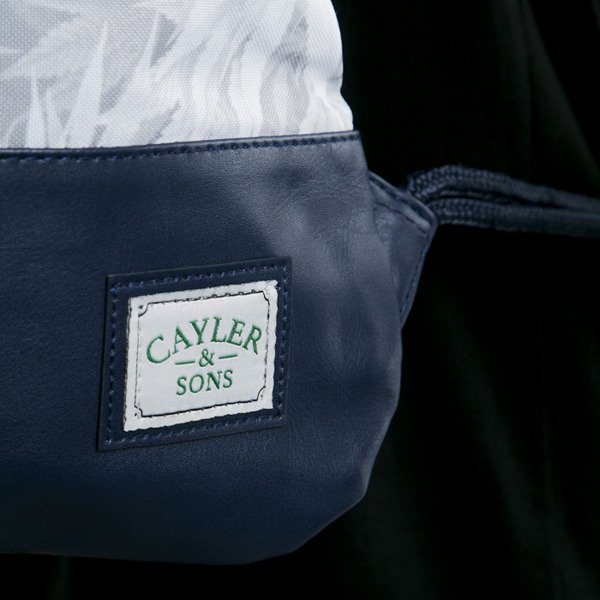 Cayler & Sons gym bag United We Smoke navy / white (GL-CAY-AW15-GB-09-OS)