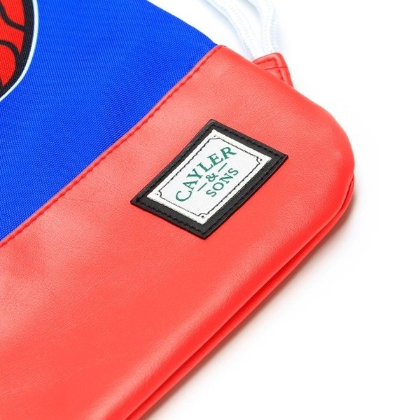 Cayler & Sons gym bag White Widow royal blue / red / white (GL-CAY-HD15-GB-02)