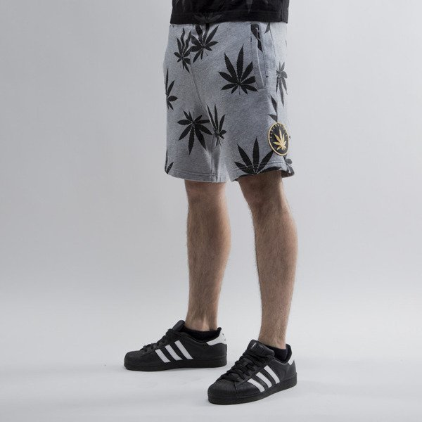 Cayler & Sons shorts  Best Budz Sweatshorts grey heather /  black (CAY-SU15-AP-17-02)