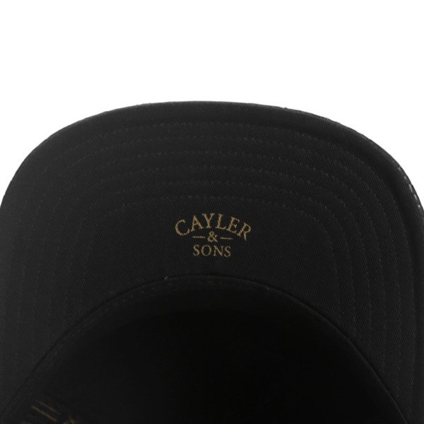 Cayler & Sons snapback Amen Cap black / gold WL-CAY-AW16-22
