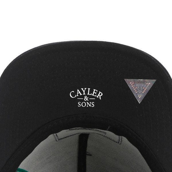 Cayler & Sons snapback Bedstuy Cap black / brown / mc GL-CAY-AW16-10