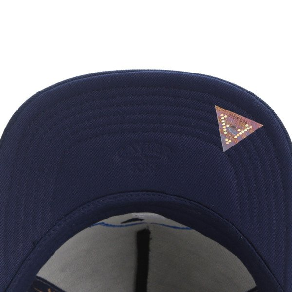 Cayler & Sons snapback Copper Label Cap grey - heather / navy / white CL-CAY-AW16-05