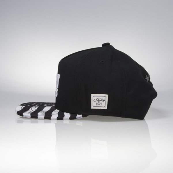 Cayler & Sons snapback F**kin Problems Classic Cap black / white CLASSIC-CAY-SU16-04