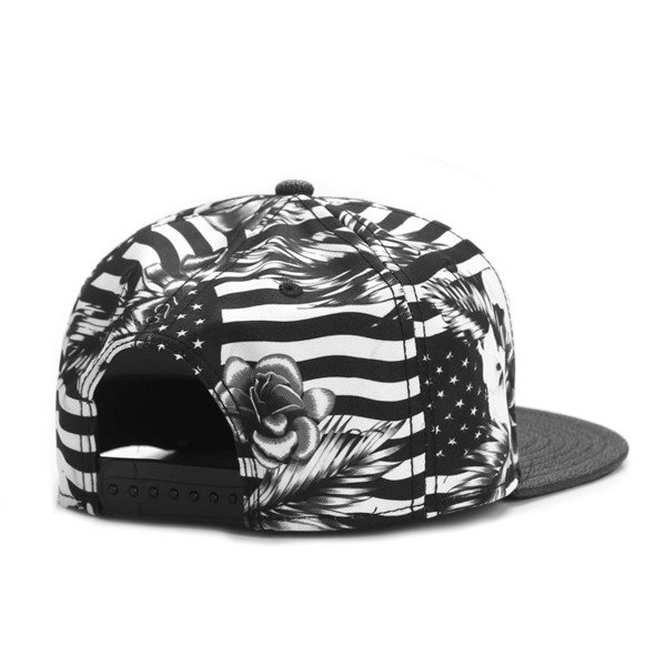 Cayler & Sons snapback Flagged Cap black / white GLD-CAY-AW16-09