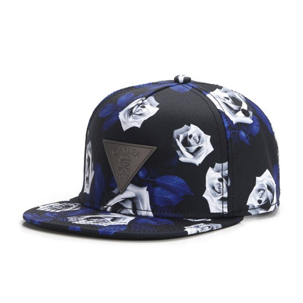 Cayler & Sons snapback Rosed Up Cap navy / white / grey GLD-CAY-AW16-06