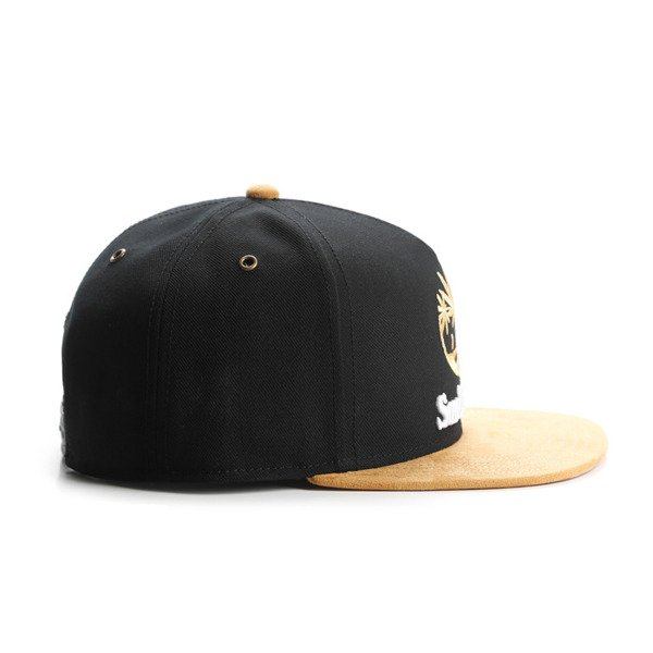 Cayler & Sons snapback Smokin' Trees Cap black / honey / white GL-CAY-AW16-05