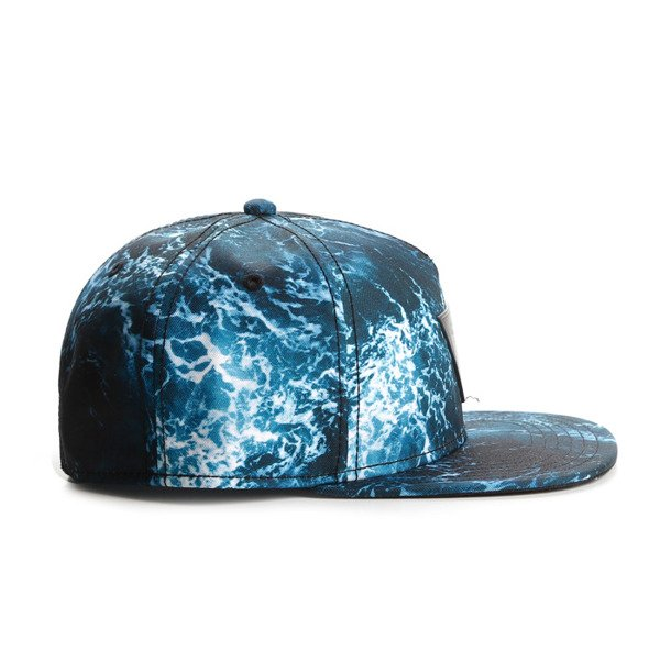 Cayler & Sons snapback Wavey Cap blue / black GLD-CAY-AW16-01