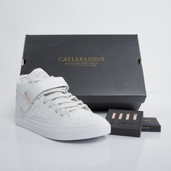 Cayler&Sons sneakers Sashimi white / rose-gold