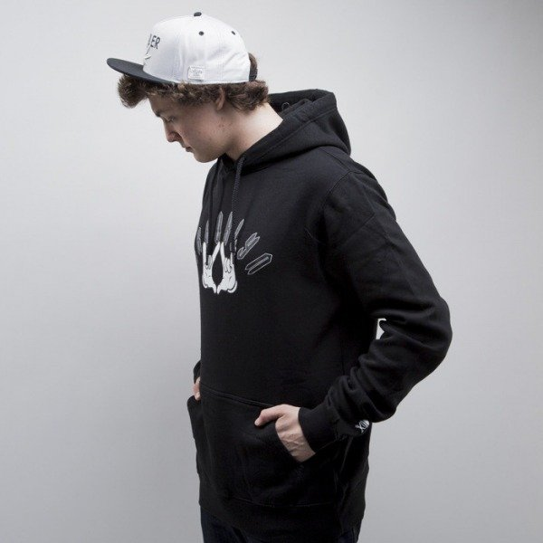 Cayler & Sons sweatshirt Go Hard Hoody black / white (CAY-SS15-AP-11-01)