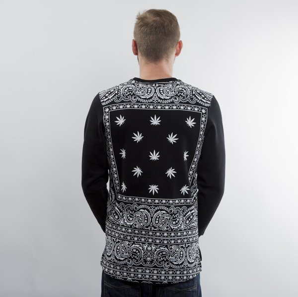 Cayler & Sons sweatshirt Hazely Long Crewneck black / white (GL-CAY-AW15-AP-17)
