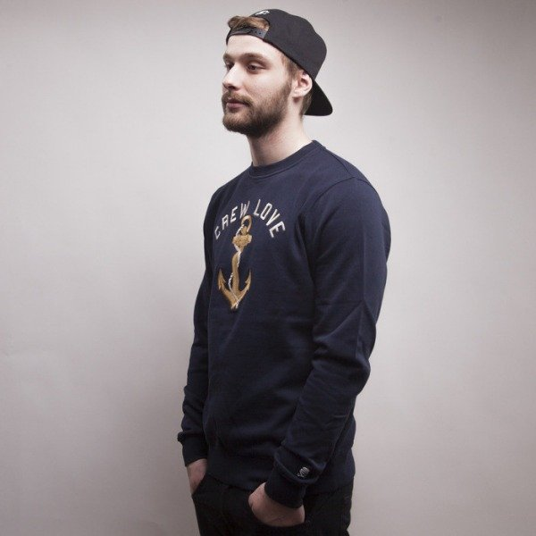 Cayler & Sons sweatshirt Lovin The Crew crewneck black / gold / white CAY-HD14-AP-04