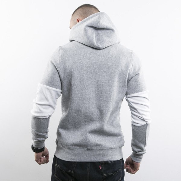 Cayler & Sons sweatshirt Tres Slick Hoody grey heather / white BL-CAY-AW15-AP-07-02