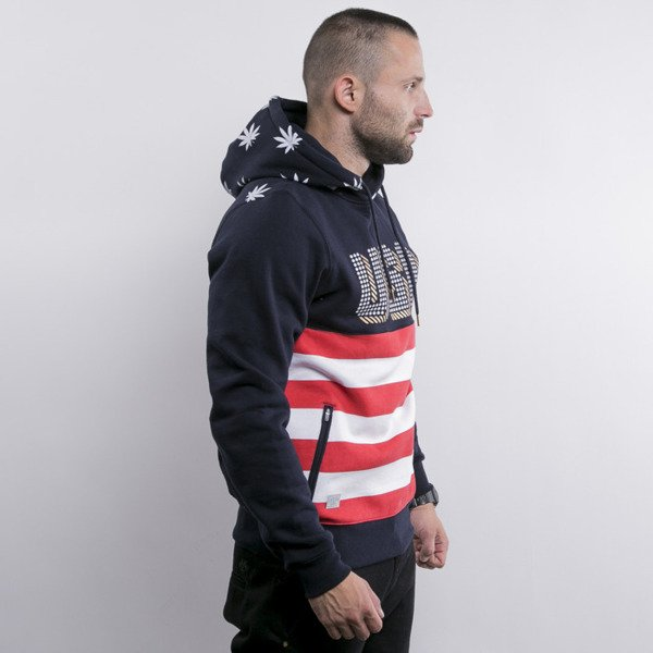 Cayler & Sons sweatshirt United We Stand Hoody navy / white / red (GL-CAY-AW15-AP-08-02)