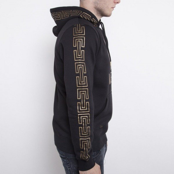 Cayler & Sons sweatshirtt Goldie hoody black / gold  CAY-AW14-AP-22-01