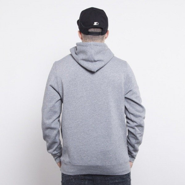 Cayler & Sons sweatshirtt Roll Light Smoke hoody grey heather / white / blue leaves CAY-AW14-AP-28-01