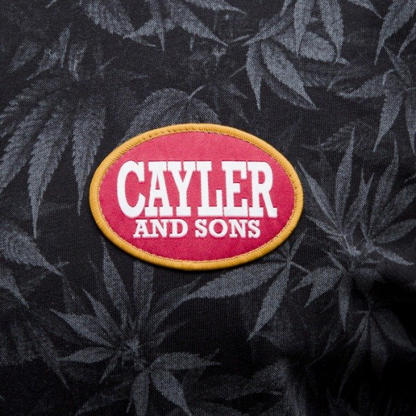 Cayler & Sons t-shirt Blunted black / white (CAY-SS15-AP-20-01)