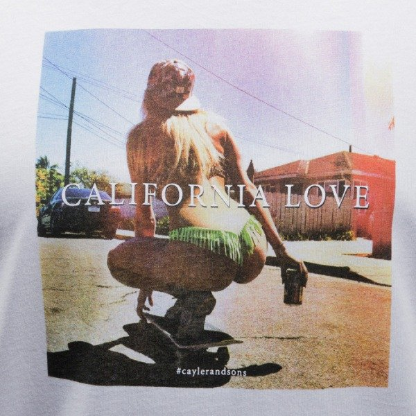 Cayler & Sons t-shirt Cali Love white / mc (CAY-SS15-AP-35-01)