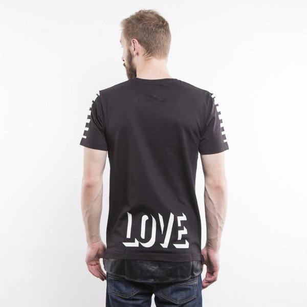 Cayler & Sons t-shirt Hood Love Long black / white BL-CAY-AW15-AP-19