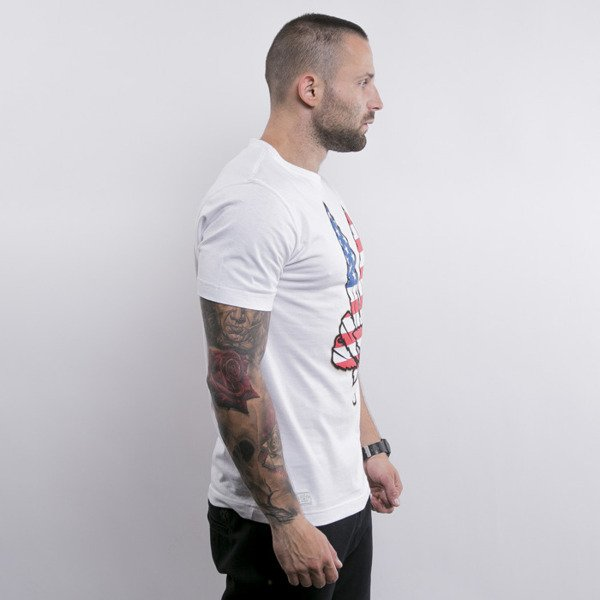 Cayler & Sons t-shirt Land Of The Free white / usa / gold (GL-CAY-AW15-AP-20)