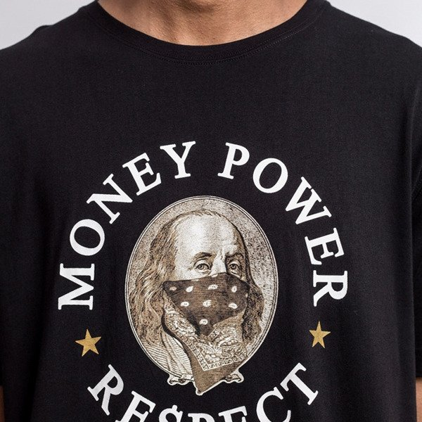 Cayler & Sons t-shirt Money Power Respect Tee black / gold / white WL-CAY-AW16-AP-22
