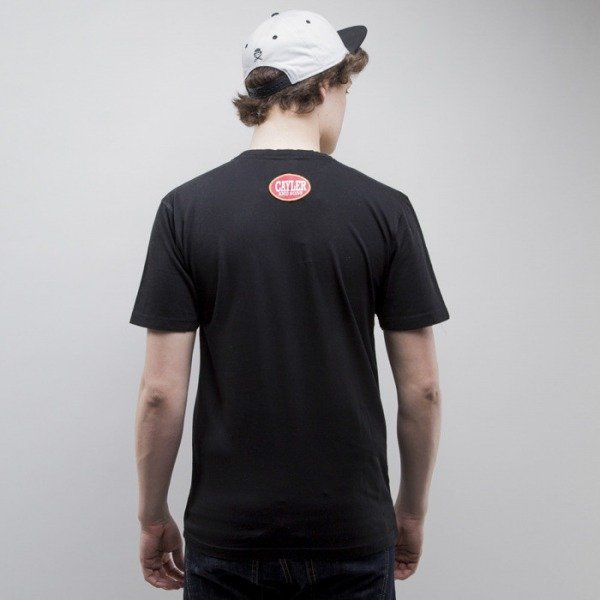 Cayler & Sons t-shirt Rollin black / white (CAY-SS15-AP-22-01)