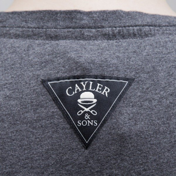 Cayler & Sons t-shirt Smart grey heather / black (CAY-SS15-AP-23-01)
