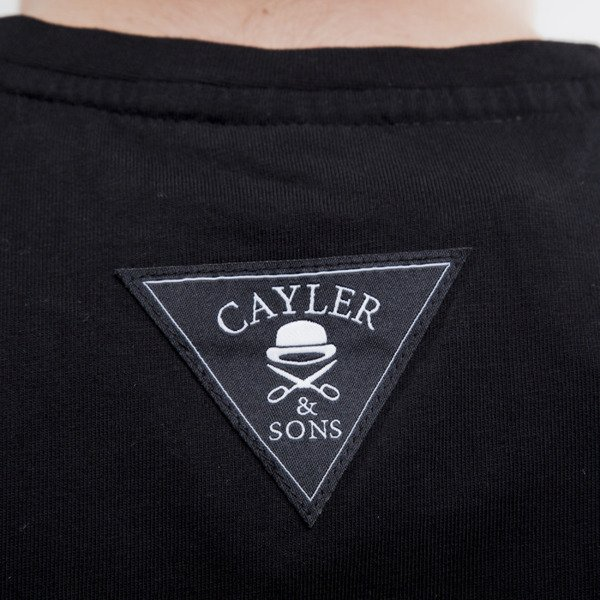 Cayler & Sons t-shirt  Still Not Loving Long black / grey / white (CAY-SU15-AP-04)