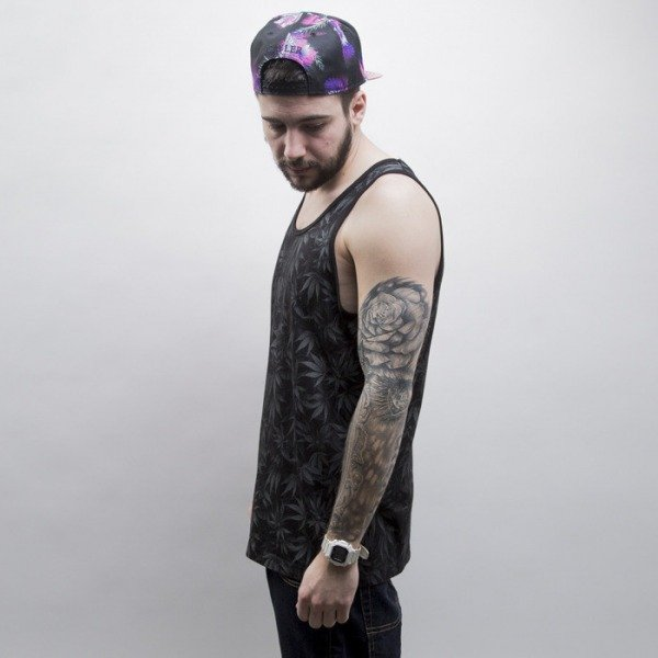 Cayler & Sons tank top Blunted black / white (CAY-SS15-AP-36-01)