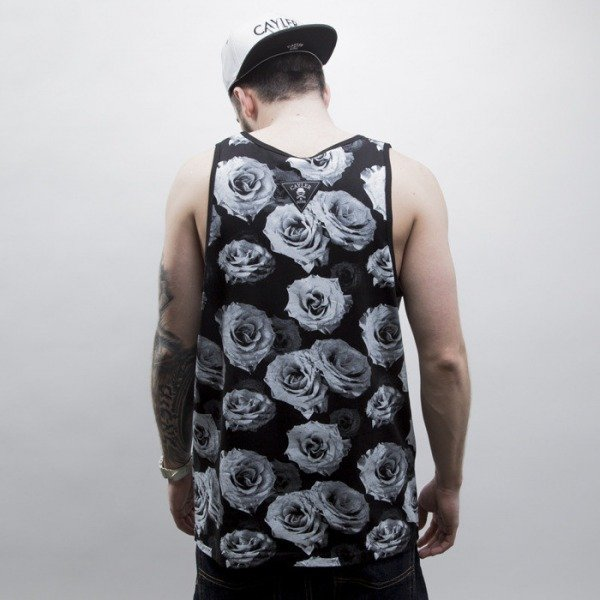 Cayler & Sons tank top Bonjour black / white (CAY-SS15-38-01)