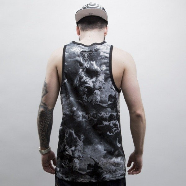Cayler & Sons tank top Fear God Mesh Jersey black / white (CAY-SS15-AP-51-01)