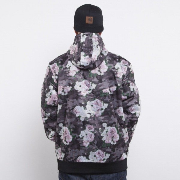 Cayler & Sons windbreaker Paris floral digi camo / black  CAY-AW14-AP-01-01