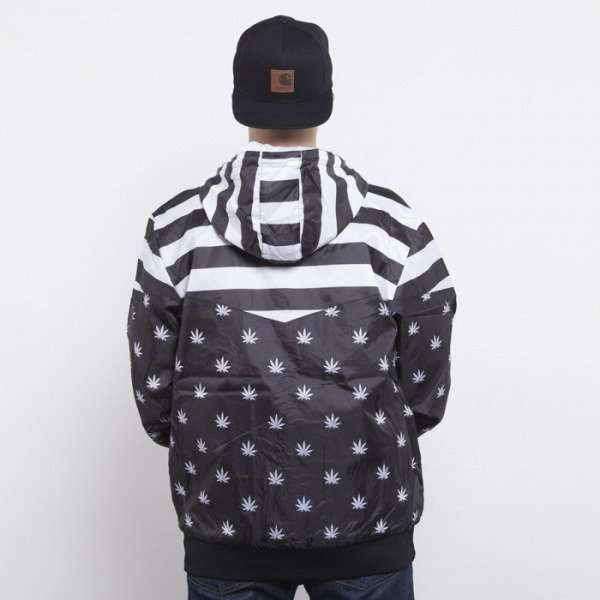 Cayler & Sons windbreaker V$A black / white CAY-AW14-AP-09-01