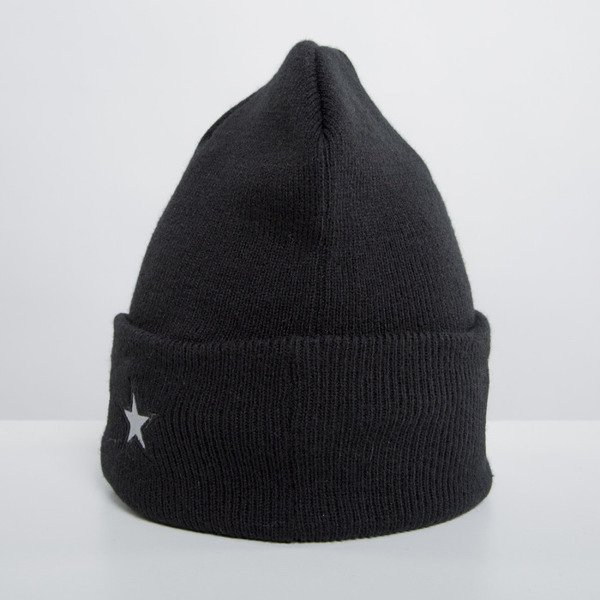 Cayler & Sons winter cap Problems Oldschool beanie black / reflective WL-CAY-HD14-BN-03