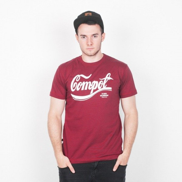 Chrum t-shirt Compot Burgundy