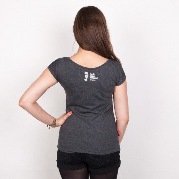 Chrum t-shirt Foch! Dark Grey Heather