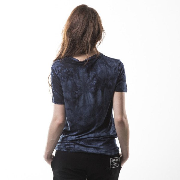 Criminal Damage Dye Tee navy / black
