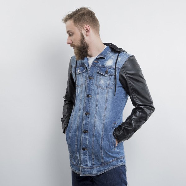 Criminal Damage Trust Denim Jacket blue / black