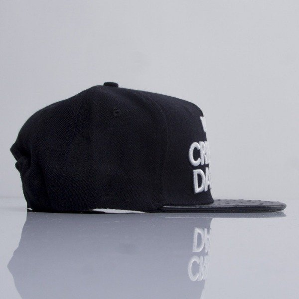 Criminal Damage snapback NO91 black