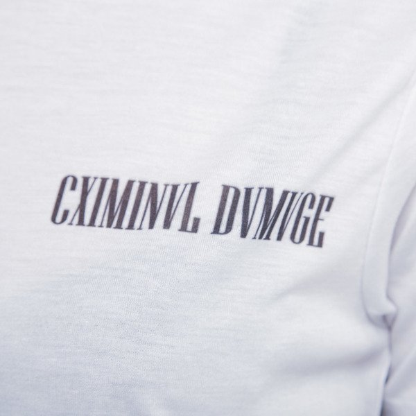 Criminal Damage t-shirt Faded black / white WMNS