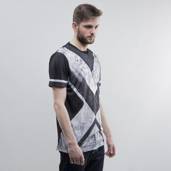 Criminal Damage t-shirt Koba black / multi
