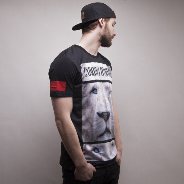 Criminal Damage t-shirt Leo black