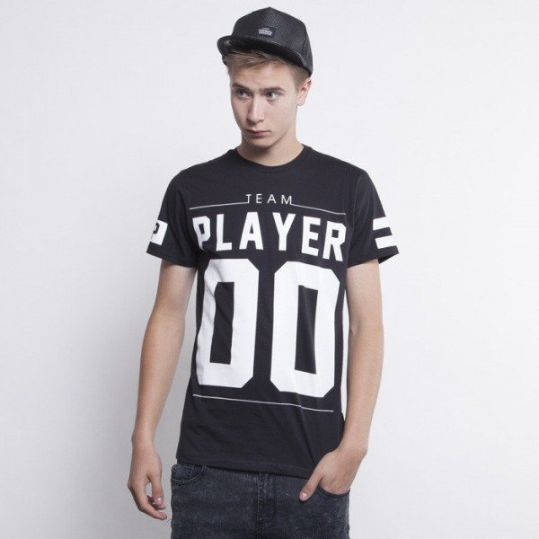Criminal Damage t-shirt Player black