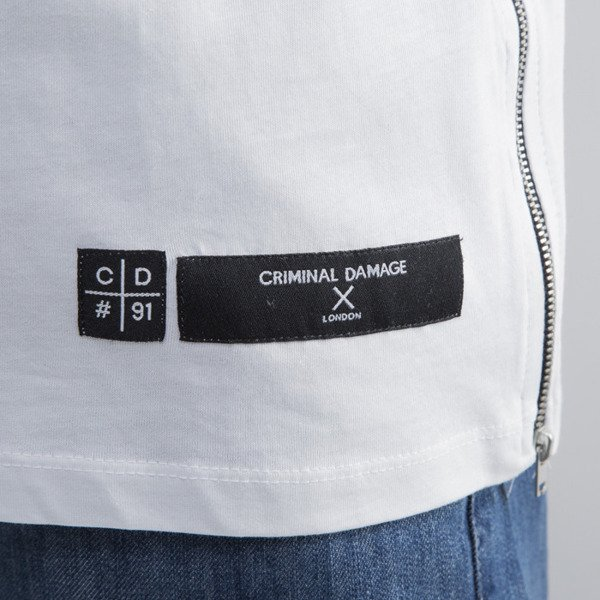 Criminal Damage t-shirt WMNS Leo black