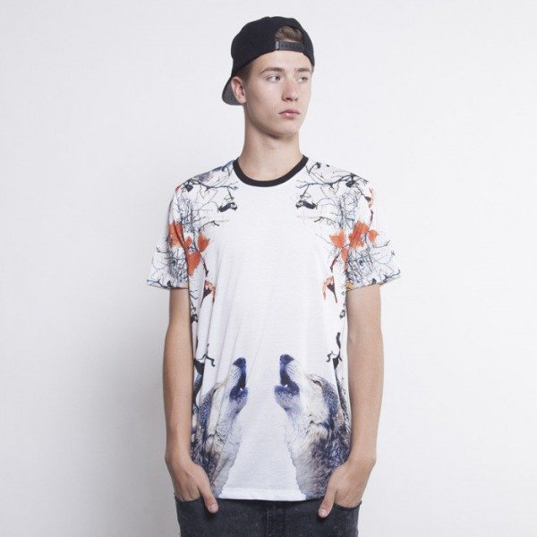 Criminal Damage t-shirt Wolves multicolor