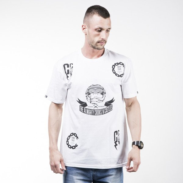 Crooks & Castles Bad Mannered t-shirt white