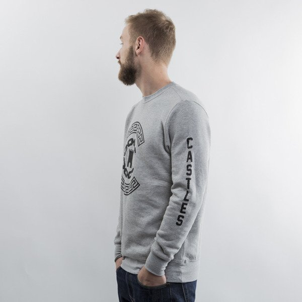 Crooks & Castles crewneck Reigining heather grey