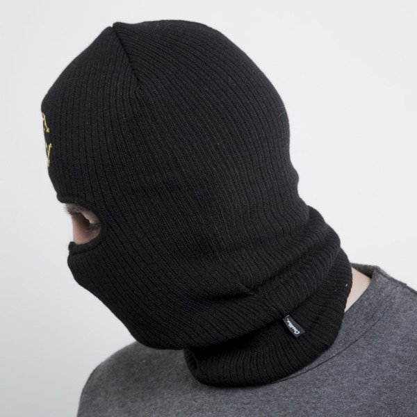 Crooks & Castles winter cap Holy grail Ski MAsk black