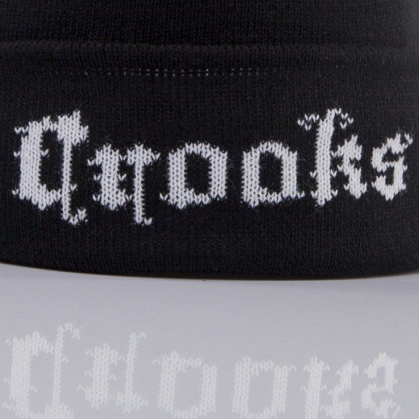 Crooks and Castle winter cap Black Order black