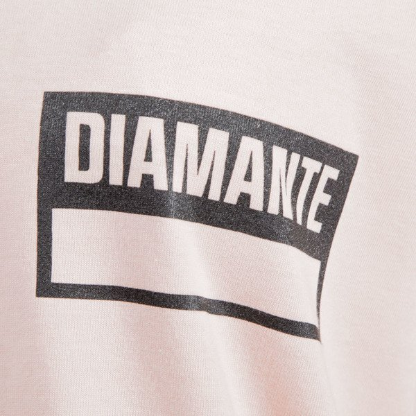Diamante Wear '86' T-shirt pink