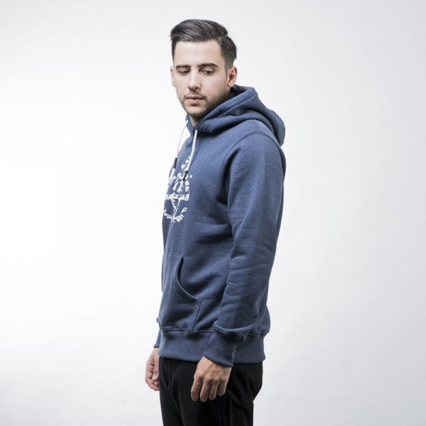Elade Hoody Icon Decline blue jeans